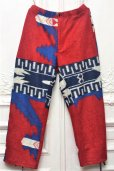 "画像1: Engineered Garments "" Jog Pant - Navajo Knit "" col.Red/Royal (1)"