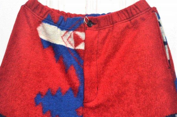 """画像2: Engineered Garments """" Jog Pant - Navajo Knit """" col.Red/Royal"""
