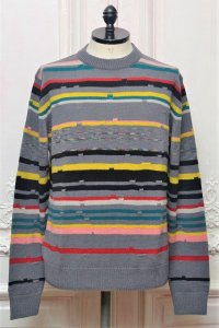 "MISSONI "" Wool Cashmere Crew Neck Sweater "" col.712"