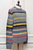 "画像2: MISSONI "" Wool Cashmere Crew Neck Sweater "" col.712 (2)"