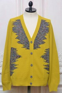 "MISSONI "" Multicolour Wool Jacquard Cardigan "" col.315"
