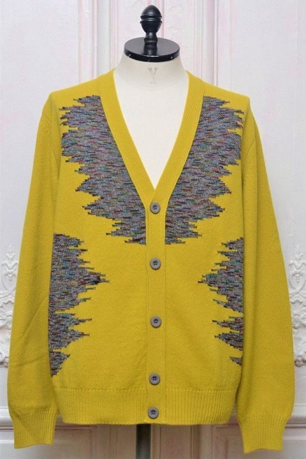 "画像1: MISSONI "" Multicolour Wool Jacquard Cardigan "" col.315"