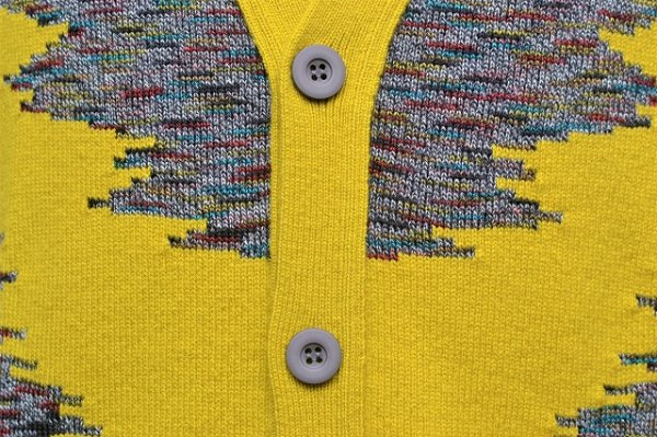 "画像2: MISSONI "" Multicolour Wool Jacquard Cardigan "" col.315"