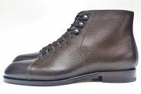 """F.lli Giacometti """" PIATR - Scotch grain Monkey Boots """" col.T.MORO"""
