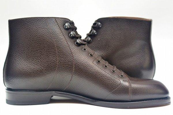 """画像2: F.lli Giacometti """" PIATR - Scotch grain Monkey Boots """" col.T.MORO"""