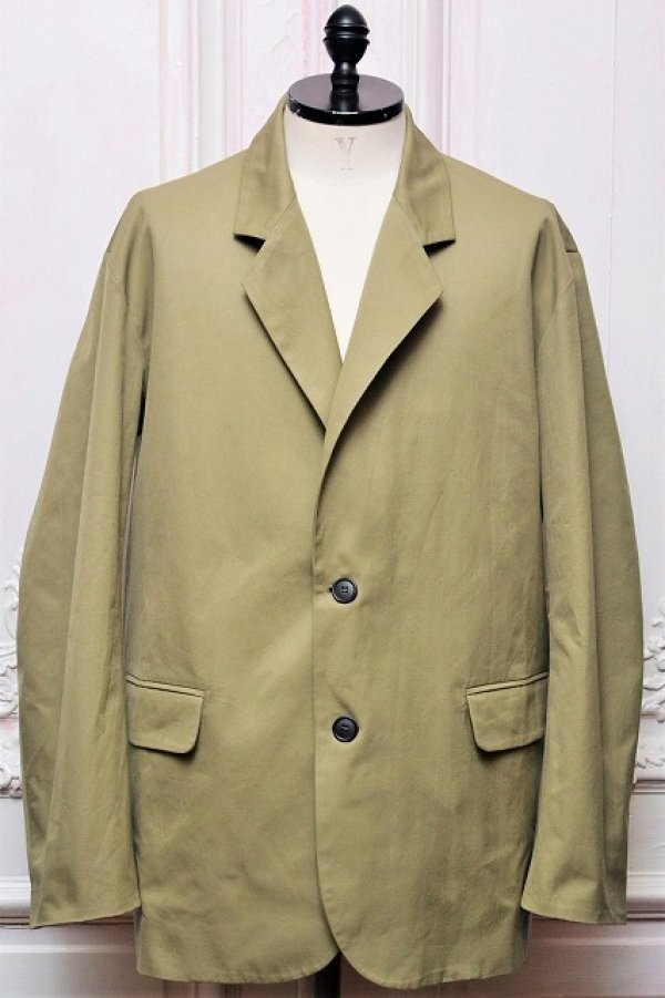 "画像1: Cristaseya "" Cotton Summer Jacket "" col.Light Khaki"