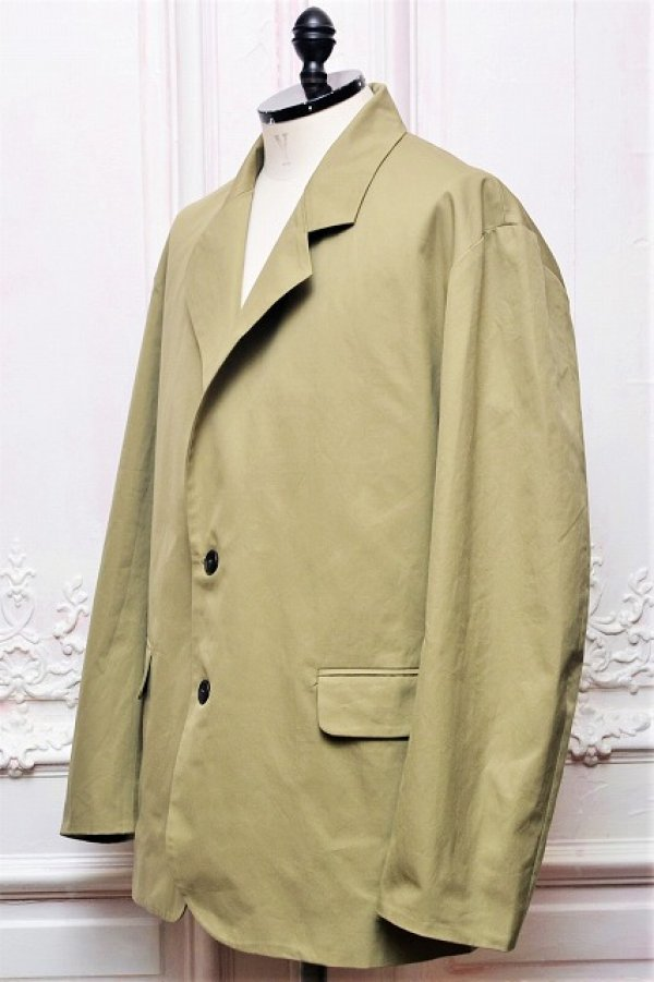 "画像2: Cristaseya "" Cotton Summer Jacket "" col.Light Khaki"