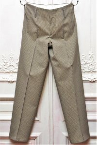 "OVERCOAT "" Wide Leg Trouser For Men in Hardcover Check "" col.Multi"