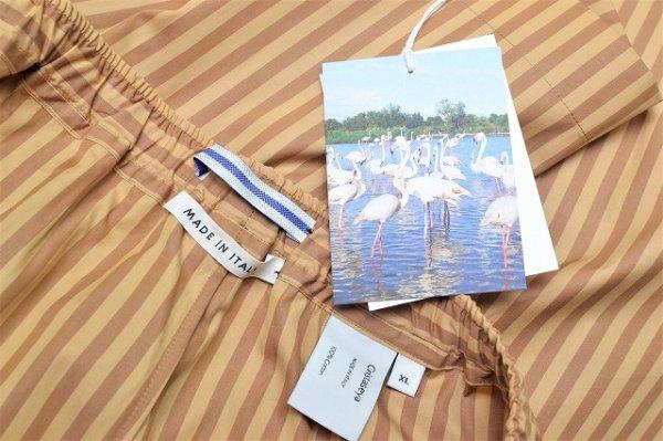 "画像5: Cristaseya "" Striped Cotton Bermuda "" col.Ocher Stripes"