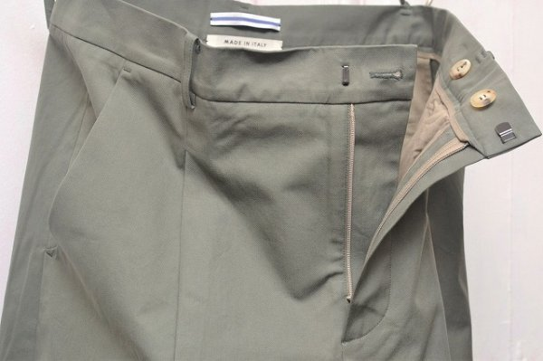 "画像2: Cristaseya "" Cotton Pleated Summer Trousers "" col.Light Petrol"
