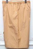"画像4: Cristaseya "" Striped Cotton Bermuda "" col.Ocher Stripes (4)"