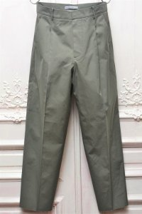"Cristaseya "" Cotton Pleated Summer Trousers "" col.Light Petrol"