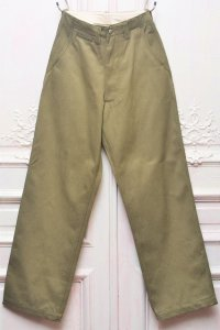 "E.Tautz "" FIELD TROUSERS - WIDE "" col.MILITARY DENIM"
