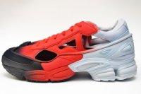 """adidas by RAF SIMONS """" RAF SIMONS REPLICANT OZWEEGO """" col.HALBLU / RED"""