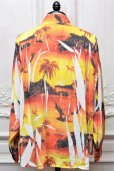 "画像9: doublet "" COMPRESSED ALOHA SHIRT IN THE HANGER MOLD "" col.SUNSET (9)"