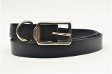"foot the coacher "" BUSH BELT "" col.BLACK / SILVER"