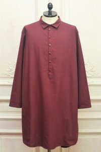 "toogood "" THE BAKER TUNIC - CARICO LW "" col.MADDER"