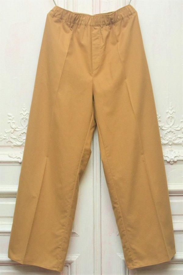 """画像1: Cristaseya x Salvatore Piccolo """" Flannel Large Pyjama Pants """" col.Camel"""