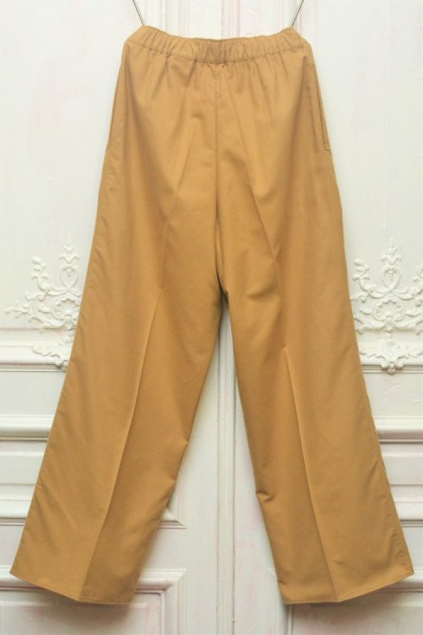 """画像2: Cristaseya x Salvatore Piccolo """" Flannel Large Pyjama Pants """" col.Camel"""