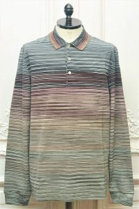 "MISSONI "" Multicolour Long Sleeve Knit Polo "" col.152"