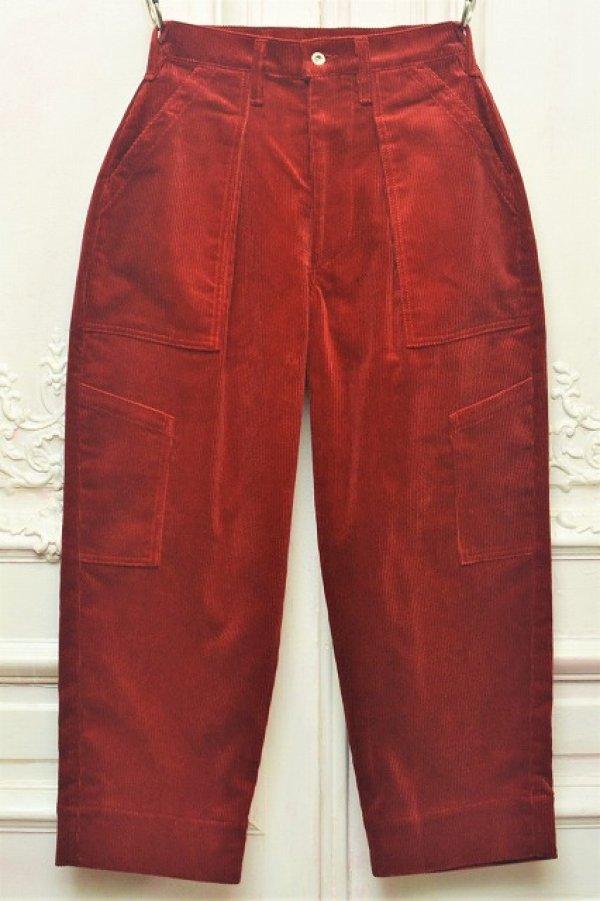 """画像1: TUKI """" combat pants - Corduroy """" col.red(21)"""