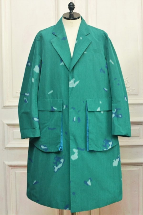 """画像1: NAMACHEKO """" Bargey Coat """" col.Green"""
