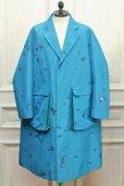 "画像1: NAMACHEKO "" Bargey Coat "" col.Blue (1)"
