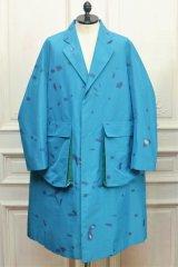 "NAMACHEKO "" Bargey Coat "" col.Blue"