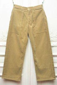 "TUKI "" patched work pants "" col.khaki (03)"
