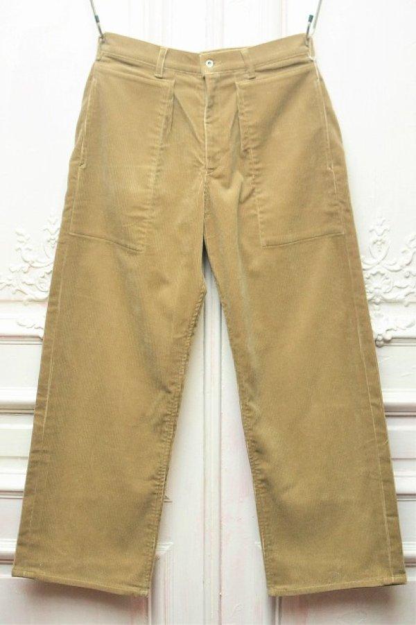 """画像1: TUKI """" patched work pants """" col.khaki (03)"""