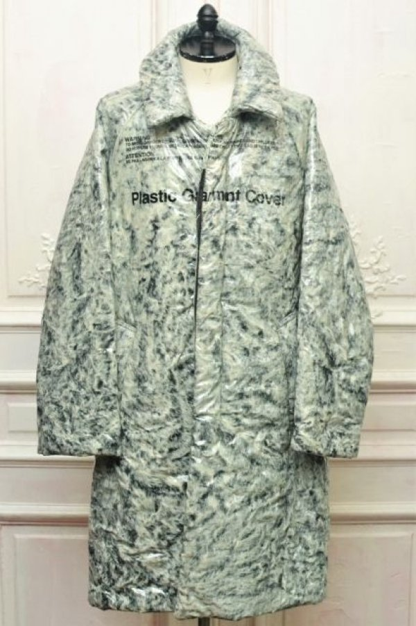 "画像1: doublet "" COATING FUR COAT "" col.WHITE/BLACK"