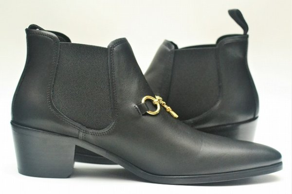 "画像2: NEEDLS "" Chelsea Bit Boot  "" col.Black - Gold bit"