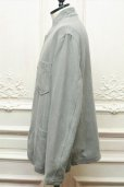 "画像4: CASEY CASEY "" JACKET - COTTON LINEN "" col.GREY (4)"