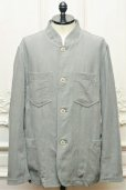 "画像1: CASEY CASEY "" JACKET - COTTON LINEN "" col.GREY (1)"
