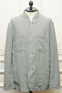 "CASEY CASEY "" JACKET - COTTON LINEN "" col.GREY"