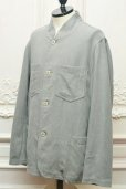 "画像3: CASEY CASEY "" JACKET - COTTON LINEN "" col.GREY (3)"