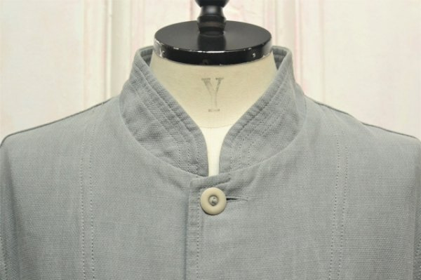 "画像2: CASEY CASEY "" JACKET - COTTON LINEN "" col.GREY"