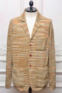 "MISSONI "" Multicolour Cotton Jacquard Jacket "" col.701"