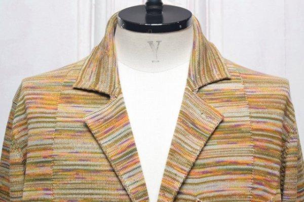 """画像2: MISSONI """" Multicolour Cotton Jacquard Jacket """" col.701"""