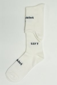 "doublet "" L+R HIGH SOX "" col.WHITE"