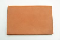 "m.a+ "" EXTRA LARGE WALLET "" col.COW LEATHER NATURAL"