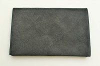 "m.a+ "" MEDIUM WALLET "" col.CAMEL LEATHER COAL"