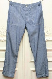 "Engineered Garments "" FATIGUE PANT - DUNGAREE CLOTH "" col.INDIGO"
