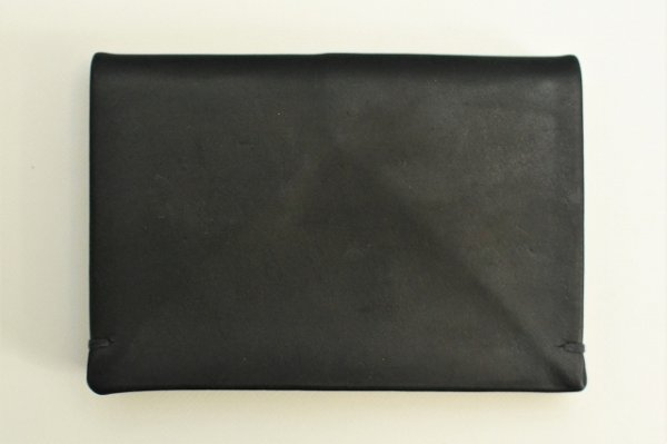 "画像2: m.a+ "" SMALL WALLET "" col.COW LEATHER BLACK"