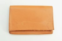 "m.a+ "" CARD WALLET "" col.COW LEATHER NATURAL"