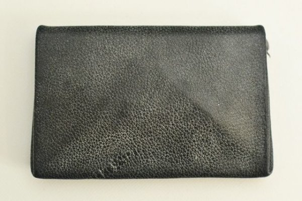 "画像2: m.a+ "" CARD WALLET "" col.CAMEL LEATHER COAL"