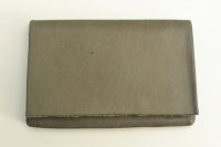 "m.a+ "" CARD WALLET "" col.COW LEATHER GREY 65"