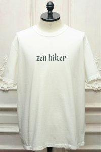 """TACOMA FUJI RECORDS """" ZEN HIKER '20 """" col.White"""