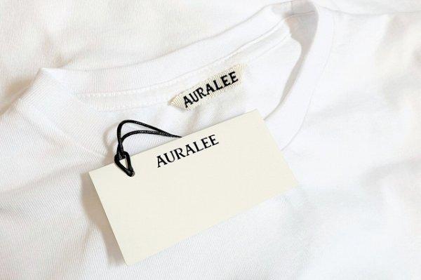 """画像5: AURALEE """" Seamless Crew Neck Half Sleeve Tee """" col.White"""