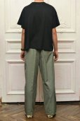 "画像11: Cristaseya "" Cotton Pleated Summer Trousers "" col.Light Petrol"